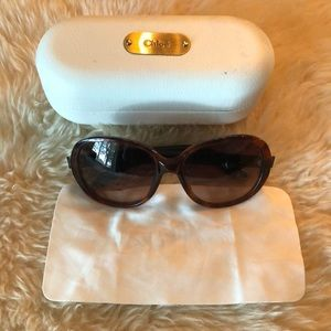 Chloe Sunglasses and Chloe Sunglass Case